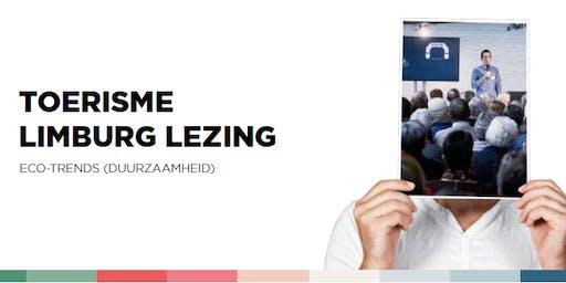 Toerisme Limburg Lezing: eco-trends (duurzaamheid)