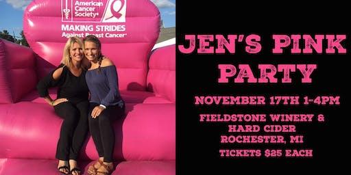 Jen's Pink Party