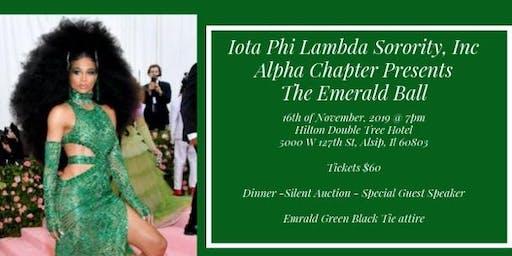 Iota Phi Lambda Sorority, Inc.- Alpha Chapter Emerald City Ball