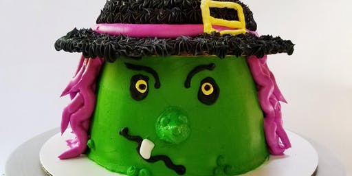 Witch Cake Decorating Class
