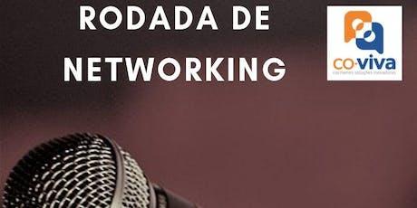Rodada de Networking e palestra ingressos