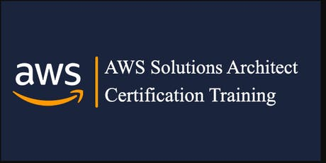AWS Solutions Architect Certification Training - Live course bilhetes