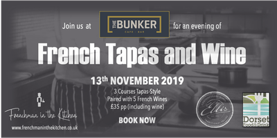 French Tapas and Wine Evening