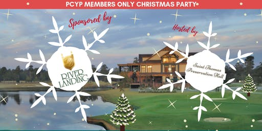 PCYP Members Only Christmas Party, Sponsored by River Landing