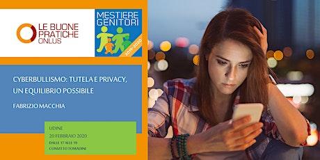 Cyberbullismo: tutela e privacy, un equilibrio possibile biglietti
