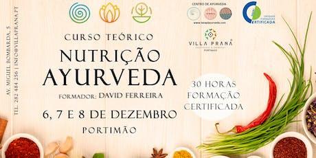 Formação Certificada em Nutrição Ayurveda bilhetes