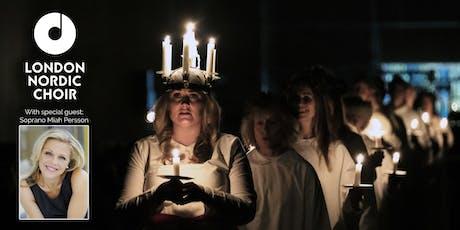 Lucia concert London Nordic Choir & Miah Persson tickets