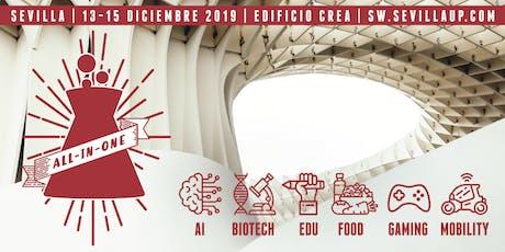 Techstars Startup Weekend Sevilla - ALL-IN-ONE entradas