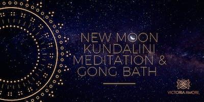 New Moon Kundalini Meditation & healing Gong Bath