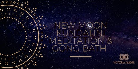 New Moon Healing Gong Bath & Kundalini Breathwork & Meditation tickets