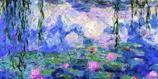 Monets Water Lillies - Social Art Class