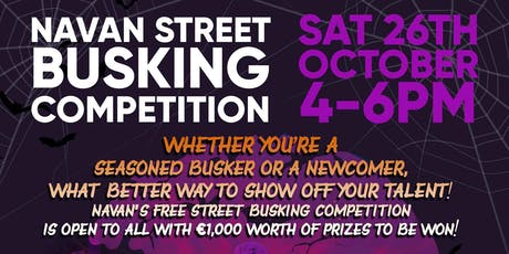 Navan Street Busking Competition tickets