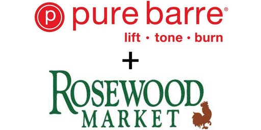 Pure Barre Pop Up at Rosewood Market