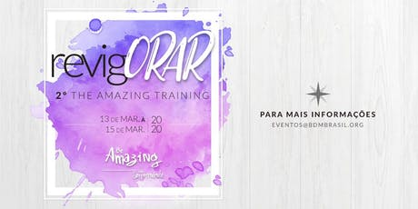 2ª The Amazing Training ingressos