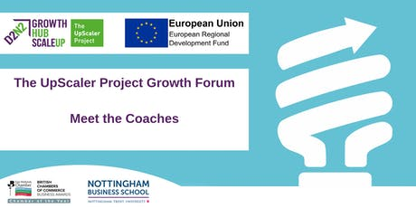 The UpScaler Project Growth Forum - 'Meet the Coaches' tickets