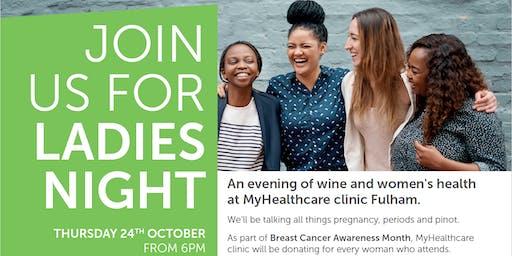 Ladies Night: Women's Health and Wine