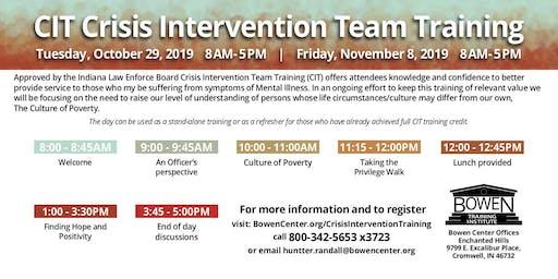 CIT Crisis Intervention Team Training