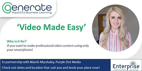 Video Made Easy tickets