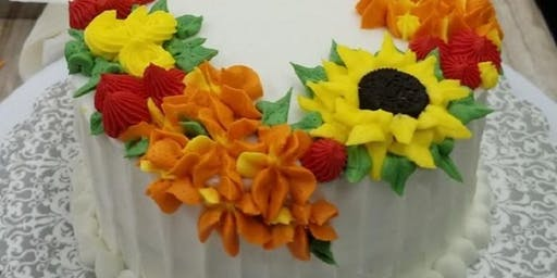 Floral Cake Decorating Class