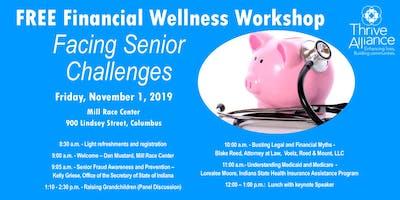 Free Financial Wellness Workshop--Facing Senior Challenges