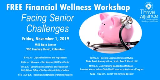 Free Financial Wellness Workshop--Facing Senior Challenges