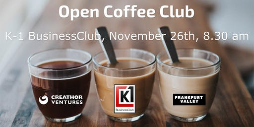 Open Coffee Club (OCC) Frankfurt - November edition
