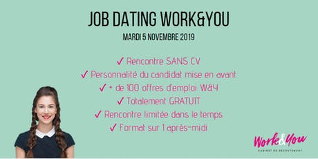 JOB DATING WORK&YOU billets