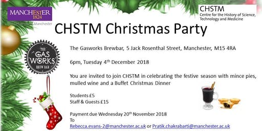 CHSTM's Christmas Party