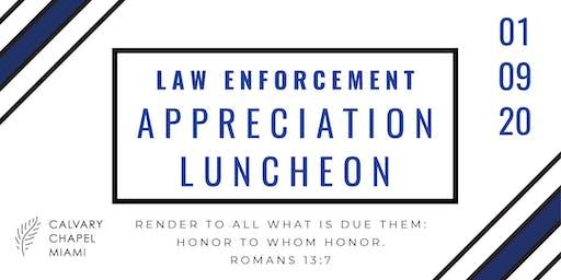 Law Enforcement Appreciation Luncheon