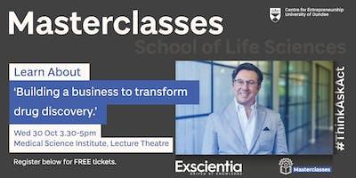 Entrepreneurial Masterclass with Professor Andrew Hopkins