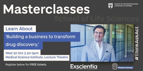 Entrepreneurial Masterclass with Professor Andrew Hopkins tickets