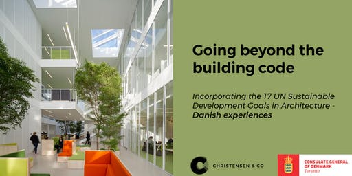 Going Beyond the Building Code:  The UN SDG's in Architectural Practice