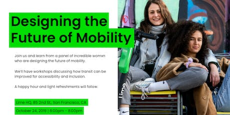 Womxn @ Lime: Designing the Future of Mobility tickets