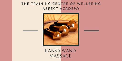 Kansa Wand Massage for massage therapists