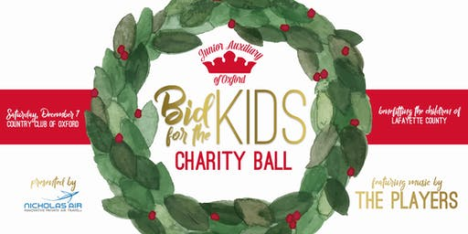 Bid for the Kids Charity Ball