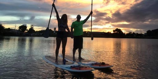 Sunday Sunset Paddle at The Waterfront