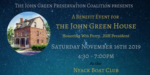 The John Green House Preservation Coalition Benefit Event