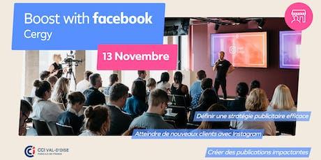 Boost with Facebook avec la CCI Val d'Oise billets