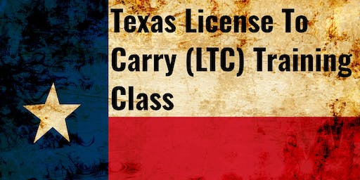 Texas License To Carry (LTC) Training Class