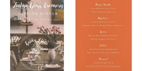 Looking Glass Creamery Tasting Dinner tickets