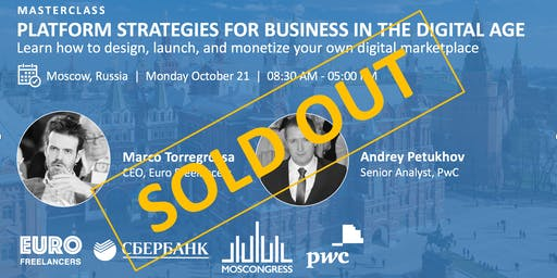 SOLD OUT Platform Strategies for Business in the Digital Age