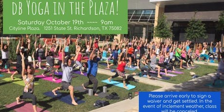 db Yoga in the Plaza tickets