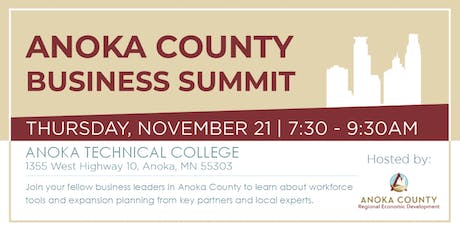Anoka County Business Summit tickets