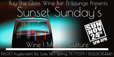 Sunset Sunday's | LIVE MUSIC & Wine