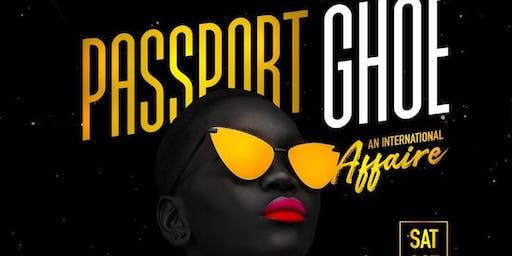 Passport GHOE (Afro Caribbean International Affair)