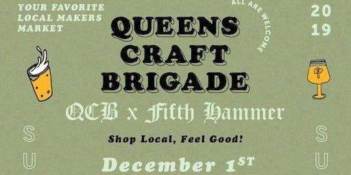 Queens Craft Brigade x Fifth Hammer Brewing