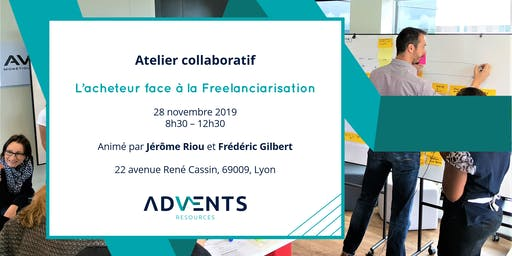 Atelier collaboratif - L'acheteur face à la freelanciarisation