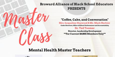 BABSE Mental Health Master Class tickets