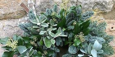 Christmas Wreath Workshop with Keelham Farm Artisan Florists
