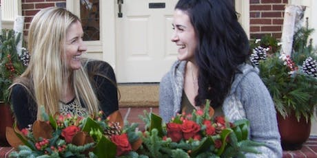 Making Holiday Spirits Bright a Floral Arranging Event with Alice's Table tickets